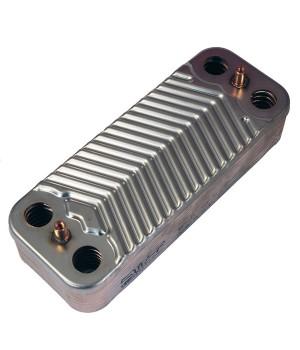 Теплообменник вторичный для моделей Ariston GENUS, CLAS, CARES, BS, EGIS, ALTEAS, HS